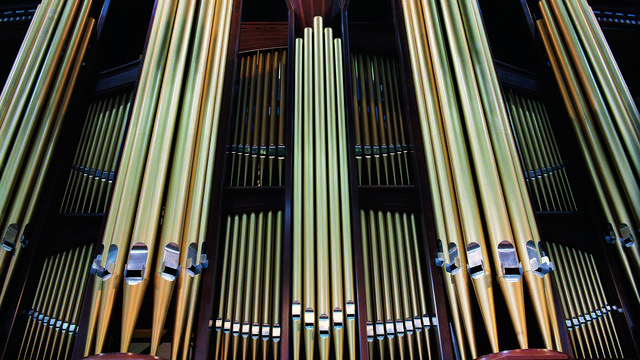 Conference Center organ pipes
