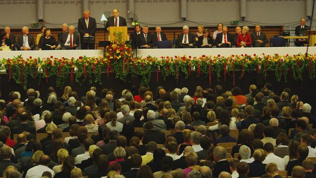 Hamburg Conference with President Monson