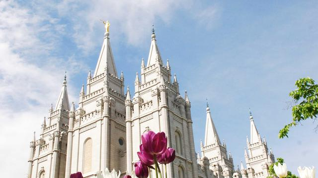 Tempel in Salt Lake City