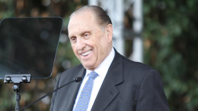 thomas monson podium long rome temple groundbreaking